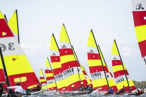 Hobie Multieuropeans Hobie 16 Gold Fleet Day 1. 128