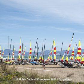 Hobie Multieuropeans Hobie 16 Gold Fleet Day 1. 17