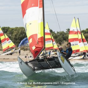 Hobie Multieuropeans Hobie 16 Gold Fleet Day 1. 43