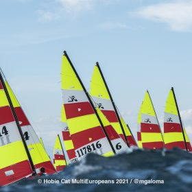 Hobie Multieuropeans Hobie 16 Gold Fleet Day 1. 47