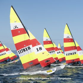 Hobie Multieuropeans Hobie 16 Gold Fleet Day 2. 10