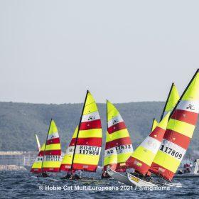 Hobie Multieuropeans Hobie 16 Gold Fleet Day 2. 80